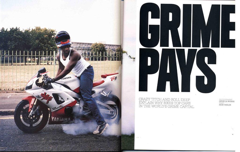 grime roll deep crazy titch Yamaha Motorbike