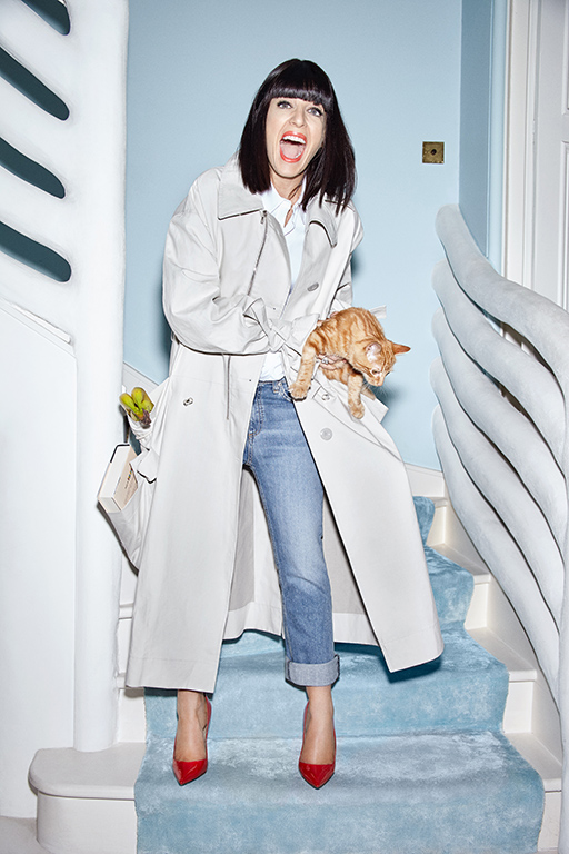Claudia Winkleman - The ST Style